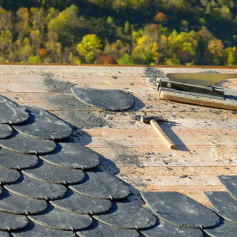 Make Ready Express can handle all your roofing repairs or replacement roofing needs.
